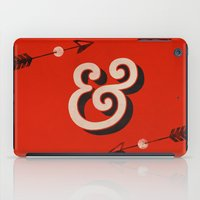 house md iPad Cases featuring AmerType Md Bold Ampersand by Yellow 13