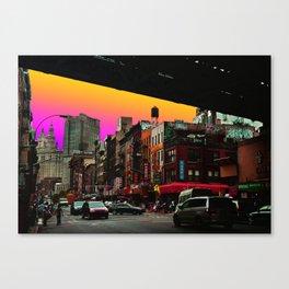 C-Town - New York Canvas Print