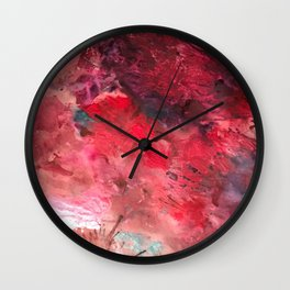Abstract Flower No.2 Wall Clock
