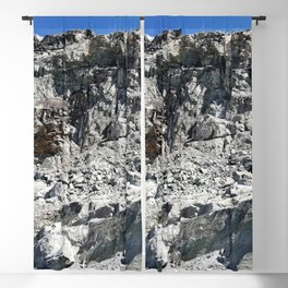 Rough rocks Blackout Curtain