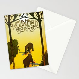 Wounded Bears Stationery Cards