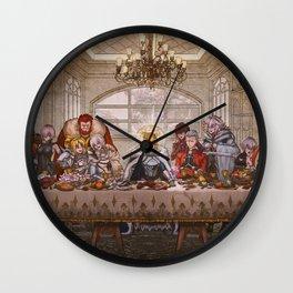 Last supper: Fate grand Wall Clock