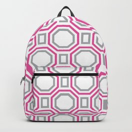 Pink Harmony in Symmetry Backpack