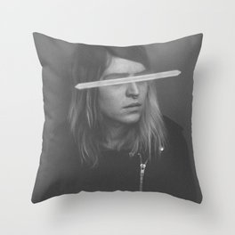 Stop Pretending I'm Worth It Throw Pillow