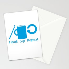 Hooks and Coffee Stationery Cards