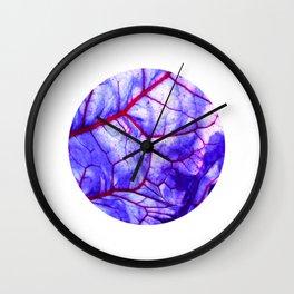 bloodstream abstract III Wall Clock
