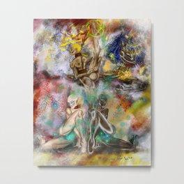 4 New Goddesses Metal Print