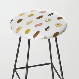 biscui - biscuit pattern Bar Stool