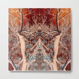 Alien Tree Command Metal Print