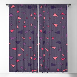 Triangles Rain #society6 #decor #buyart Blackout Curtain