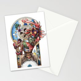 The song of Majora Stationery Cards