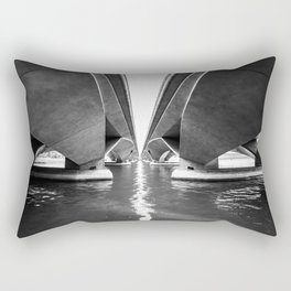Esplanade Drive Bridge, Singapore Rectangular Pillow