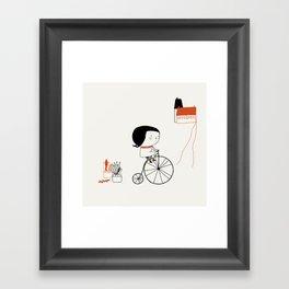 Hectora 2 Framed Art Print
