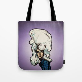 Marshmallow Hair Tote Bag