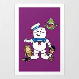 Ghostbusters- Ghost Toddlers Art Print
