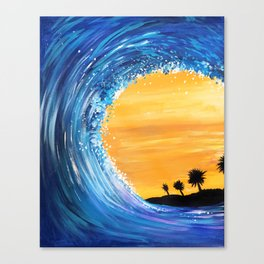 Tidal Wave Canvas Print