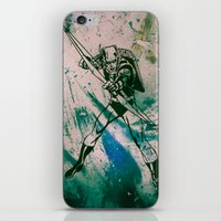 green arrow iPhone & iPod Skins featuring GREEN ARROW by Zorio