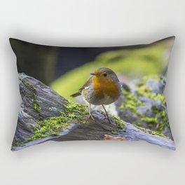 Winter Robin Rectangular Pillow