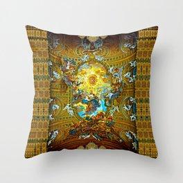 Barococo ... The Grandeur of Italy! Throw Pillow
