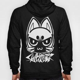 metal cat icon Hoody