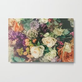 Floral Bunch Metal Print