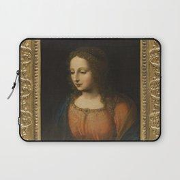 Bernardino Luini - Portrait of a Woman Laptop Sleeve
