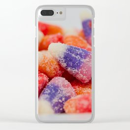 Sweet and sour flavored candy Clear iPhone Case