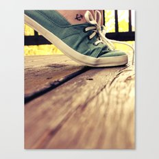 tip toes Canvas Print