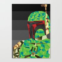 boba Canvas Prints featuring Boba by Ardylles Kurniawan