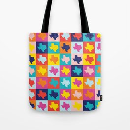 texas rainbow Tote Bag