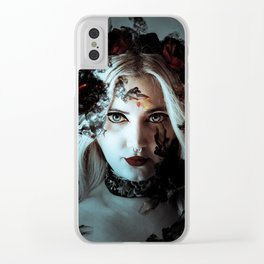 Darkness befalls me and fire and ashes surrounds me Clear iPhone Case