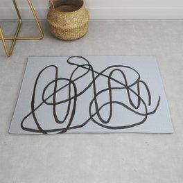 Wiggly Line Rug