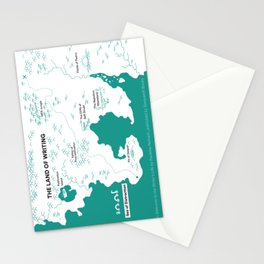 The Land of Writing Stationery Cards