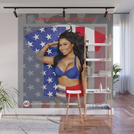 USA FLAG Wall Mural
