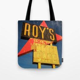 Roy's Vacancy Tote Bag