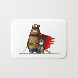 Hero Time Bath Mat