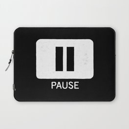 Pause Button Laptop Sleeve
