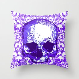 What Hope? Purple Throw Pillow