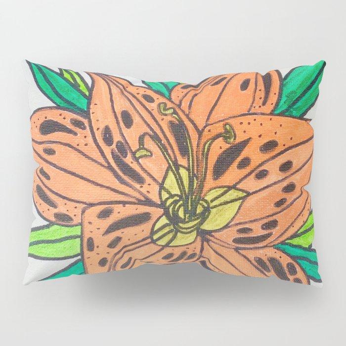 Tiger lily Pillow Sham