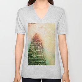 Temple Unisex V-Neck