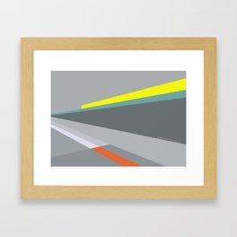 Berlin Perspectives - Erich-Weinert-Strasse / Schönhauser Allee Framed Art Print