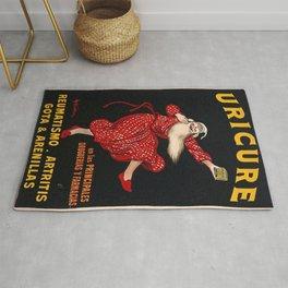 Vintage poster - Uricure Rug