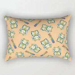 Maneki Neko Lucky Rectangular Pillow