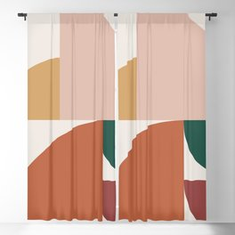 Abstract Geometric 10 Blackout Curtain