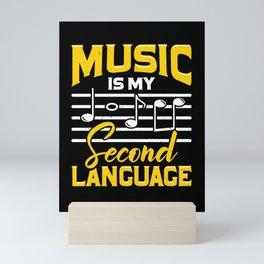 Music School Teacher Instructor Gift  Mini Art Print