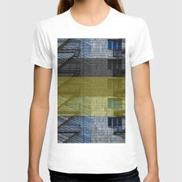 Facade with fire stairs T-shirt