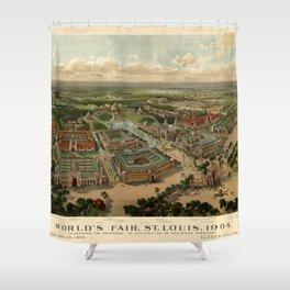 St. Louis Worlds Fair 1904 Shower Curtain