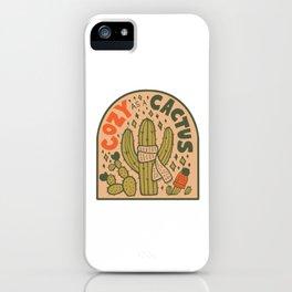 Cozy as a Cactus iPhone Case