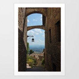 portals .:. assisi Art Print