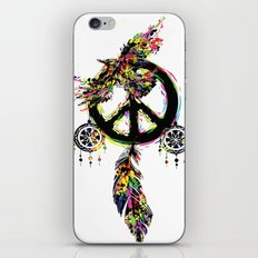 Peace dream cather iPhone & iPod Skin